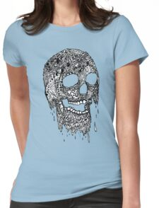 Brain Melter (B&W) Womens Fitted T-Shirt