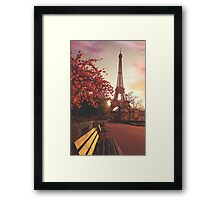 Evening in Paris Framed Print