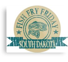 SOUTH DAKOTA FISH FRY Metal Print