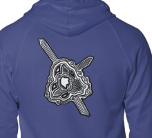 Cell Zipped Hoodie