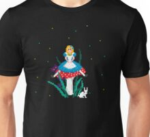 Alice on the Toadstool Unisex T-Shirt
