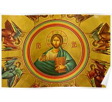 Pantocrator (All-Ruler) Icon Poster