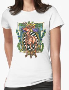 Rival Stag Womens Fitted T-Shirt