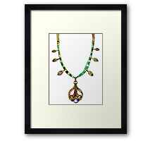 Amulet of Dibella Framed Print