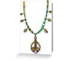 Amulet of Dibella Greeting Card