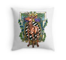 Rival Stag Throw Pillow