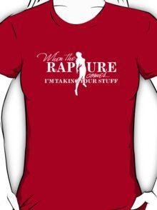 When the Rapture Comes… (Dark) T-Shirt