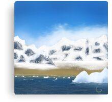 Antarctic Isle Canvas Print