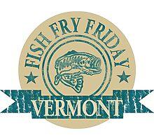VERMONT FISH FRY Photographic Print