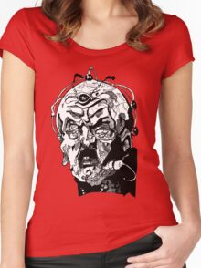 Davros - One  Women's Fitted Scoop T-Shirt