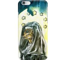 Reptilian Nun iPhone Case/Skin