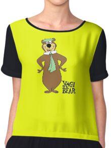 Yogi Bear - Bbo Bear - Cartoo Chiffon Top