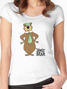 Yogi Bear - Bbo Bear - Cartoo Women's Fitted Scoop T-Shirt