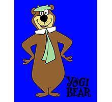 Yogi Bear - Bbo Bear - Cartoo Photographic Print