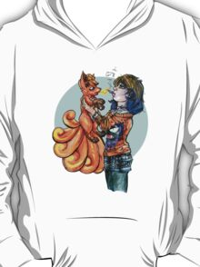 Pokemon Trainer Fires One Up T-Shirt
