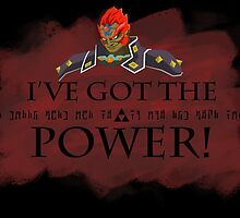 Ganondorf and the Triforce of Power by DrGraveRobber