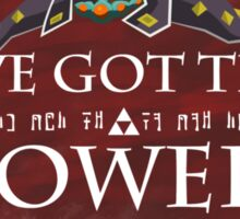 Ganondorf and the Triforce of Power Sticker