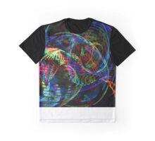 Swirly Lights Graphic T-Shirt