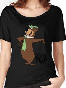 Yogi Bear - Bbo Bear - Cartoon Women's Relaxed Fit T-Shirt