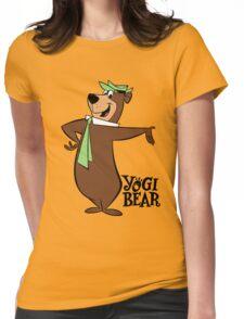 Yogi Bear - Bbo Bear - Cartoon Womens Fitted T-Shirt