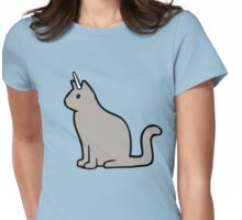 Caticorn (Cat Unicorn) Womens Fitted T-Shirt