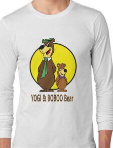 Yogi Bear - Bbo Bear - Cartoon Long Sleeve T-Shirt