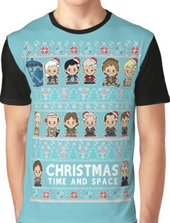 Lil Doc Who Christmas Jumper Graphic T-Shirt