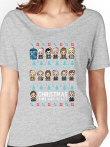 Lil Doc Who Christmas Jumper Women's Relaxed Fit T-Shirt