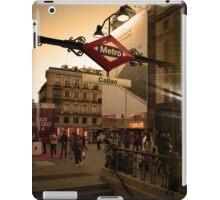 Me encanta el metro iPad Case/Skin