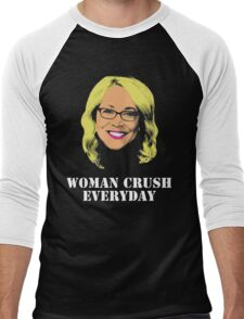 Doris Burke Woman Crush Everyday Drake  Men's Baseball ¾ T-Shirt