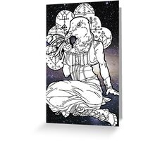 far out veve dove Greeting Card