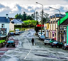 A Man And His Dog - Sneem, Ireland by Mary Carol Story