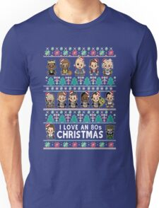 lil 80s Movie Christmas Jumper Unisex T-Shirt