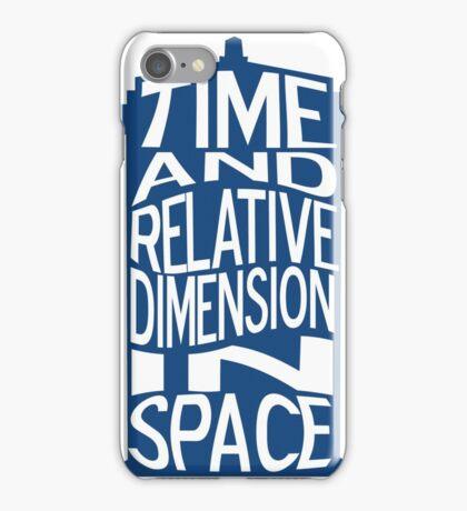 TARDIS Definition iPhone Case/Skin