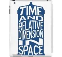 TARDIS Definition iPad Case/Skin