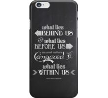 Within Us iPhone Case/Skin