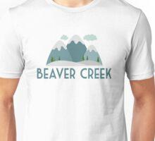 Beaver Creek Ski T-shirt - Skiing Mountain Unisex T-Shirt