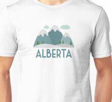 Alberta Ski T-shirt - Skiing Mountain Unisex T-Shirt