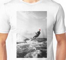 santa surf - kite surf Unisex T-Shirt
