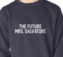 The Future Mrs. Salvatore-- White Pullover