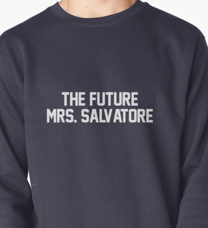 The Future Mrs. Salvatore-- White Pullover