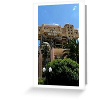 Hollywood Tower of Terror Greeting Card
