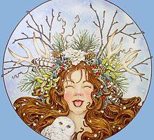 Winter Goddess by BDMillustration