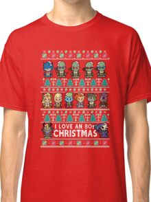 Lil 80s Cartoon Christmas Jumper Classic T-Shirt