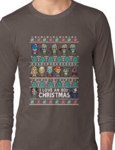 Lil 80s Cartoon Christmas Jumper Long Sleeve T-Shirt