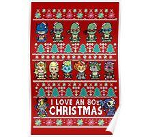 Lil 80s Cartoon Christmas Jumper Poster
