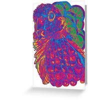 Summer Electric Conure Greeting Card