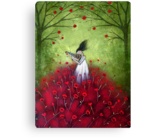 loVe is a symphony  Canvas Print