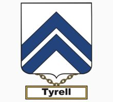 Tyrell Coat of Arms (English) by coatsofarms