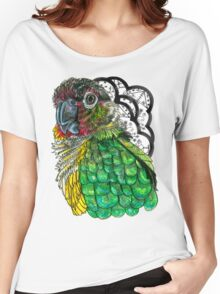 Green Cheeked Conure Women's Relaxed Fit T-Shirt